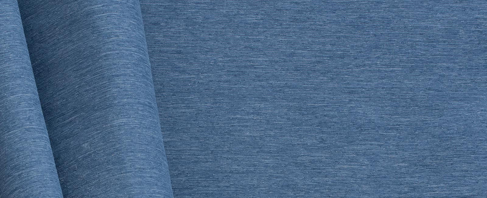 Lightweight fabric in Chambray Blue