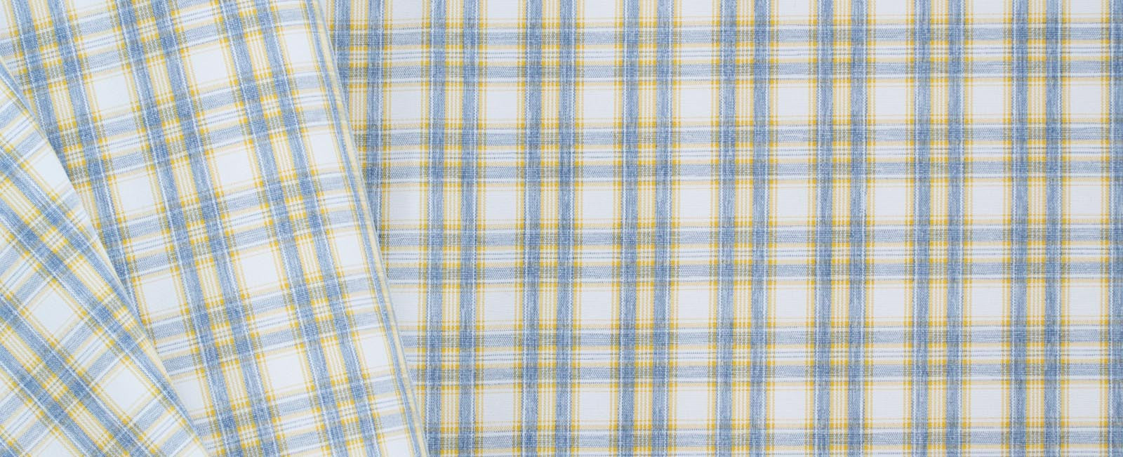 Lightweight fabric in Lemonade Stand Plaid