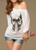 How to Wear Skull Clothing and Still Look Feminine and Chic