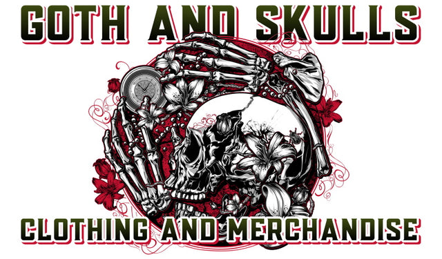 Gothic and Skulls clothing merchandise since 2015