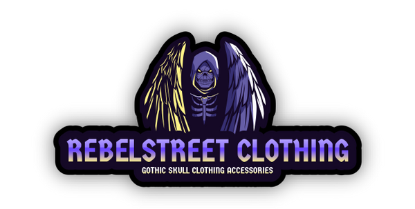 Rebel Street Clothing Skull Goth edgy merchandise and accessories