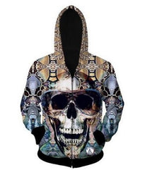 Skull Hoodies and Tops With a Sweet Side
