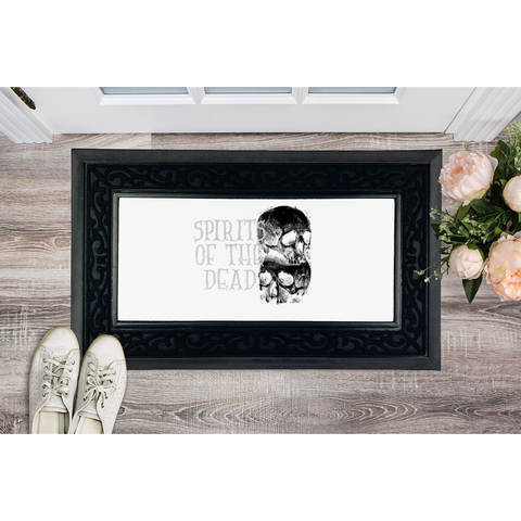 Spirits Of The Dead Sublimation Heavy Duty Door Mat