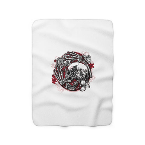 Gallows Hill Sherpa Fleece Blanket