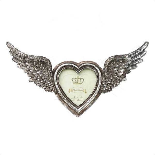 Winged Heart Photo Free Standing Frame