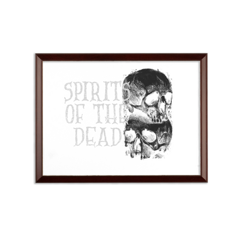 Spirits Of The Dead Wall Plaque