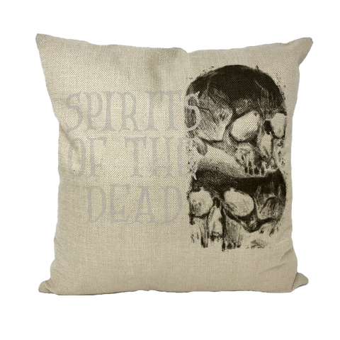 Spirits Of The Dead Throw Pillows