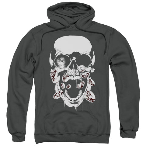 Skull Head Screaming Pullover Hoodie