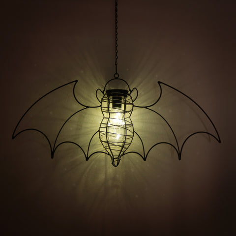 Solar Powered Bat Lantern Light