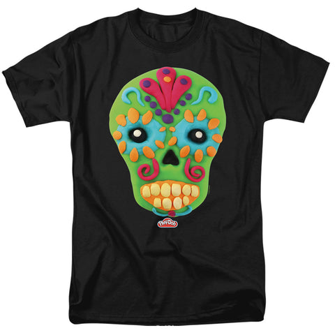 Sugar Skull Head Playdoh T-Shirt