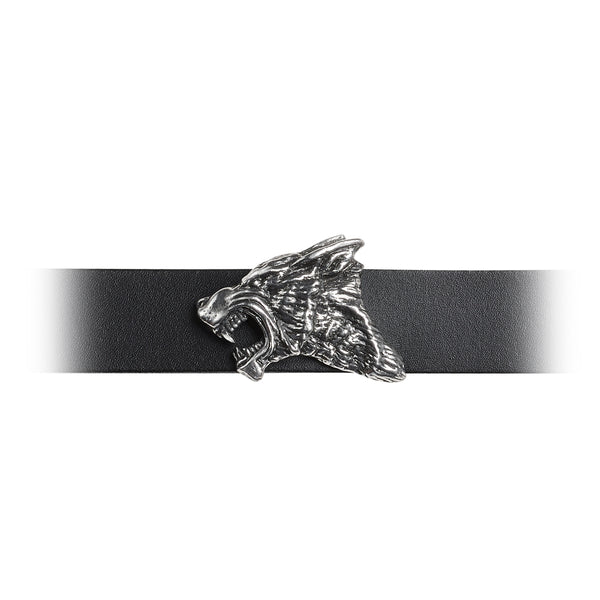 Ferocious Power Dark Wolf Wrist Band