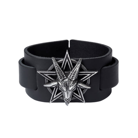 Goat Head Worship of The Knights Baphomet Bracelet