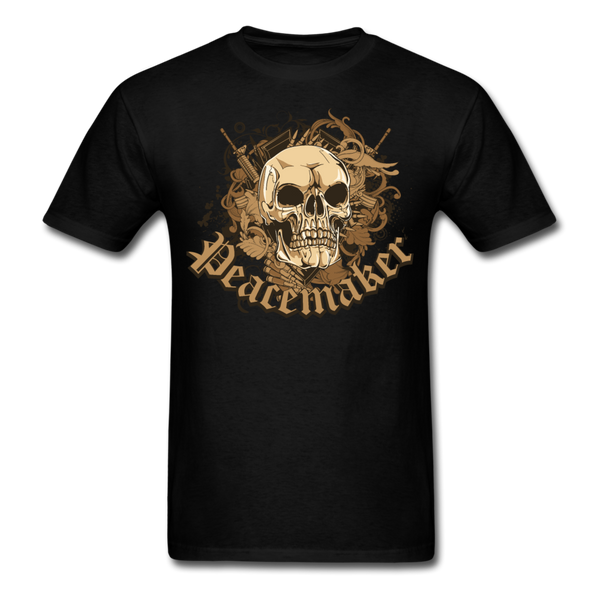 Peacemaker Skull T-Shirt - black