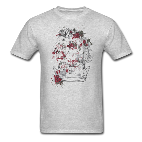 Bloody Horse T-Shirt - heather gray