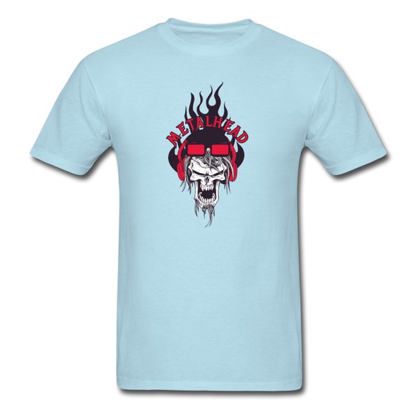Metalhead T-Shirt - powder blue