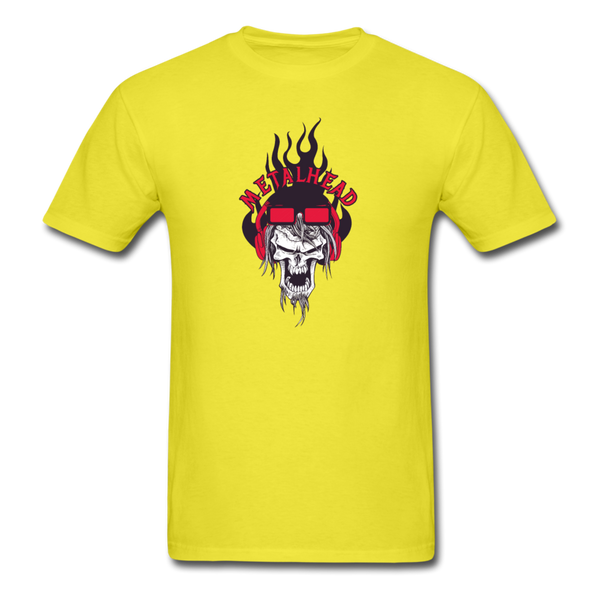 Metalhead T-Shirt - yellow