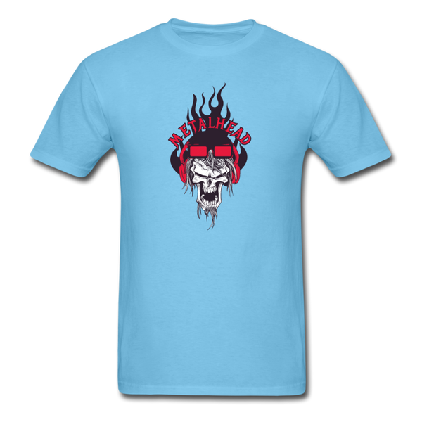 Metalhead T-Shirt - aquatic blue