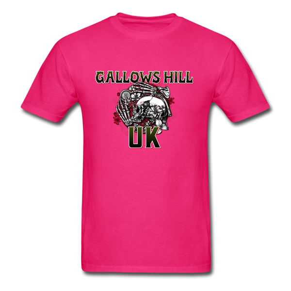 Gallows Hill UK T-Shirt - fuchsia