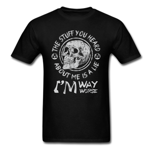 The Stuff You Heard T-Shirt - black