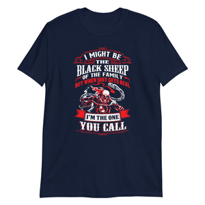 I Might Be The Black Sheep - T-Shirt