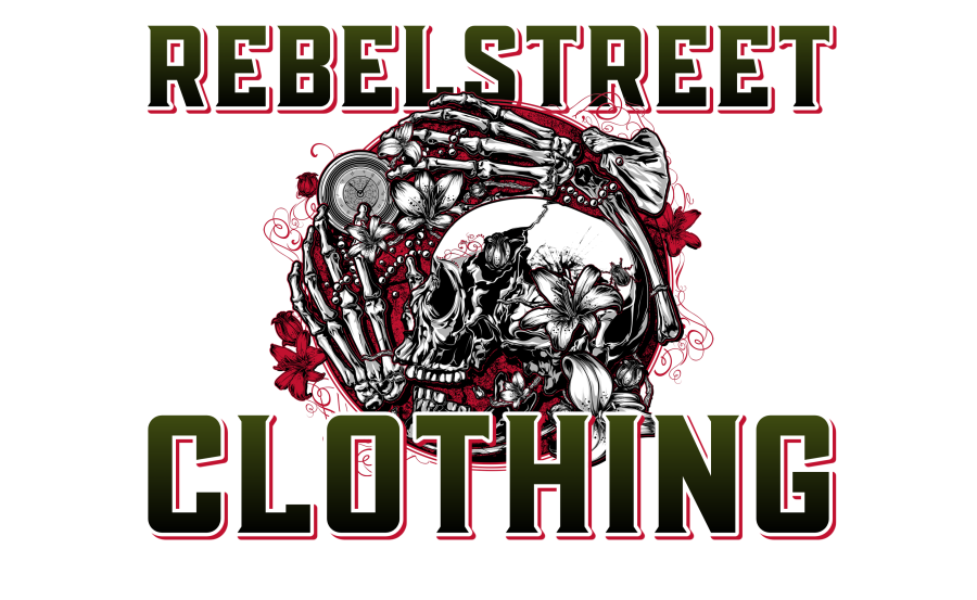 Rebel Street Clothing Goth Skull merchandise and accessories