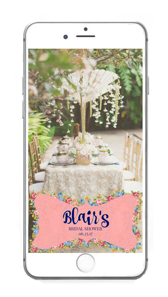Bridal Shower Snapchat Geo Filter 👻
