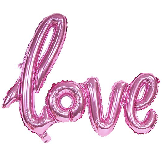 Sharbathi Pink Love Balloon