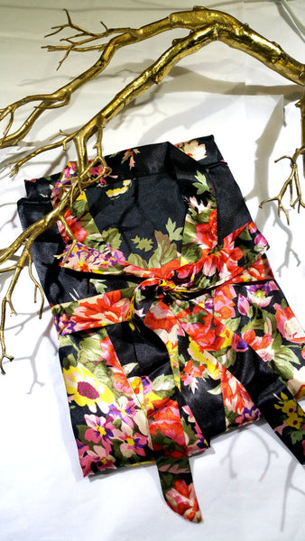 Set of 3 Floral Bridesmaid Robes - Kimonos