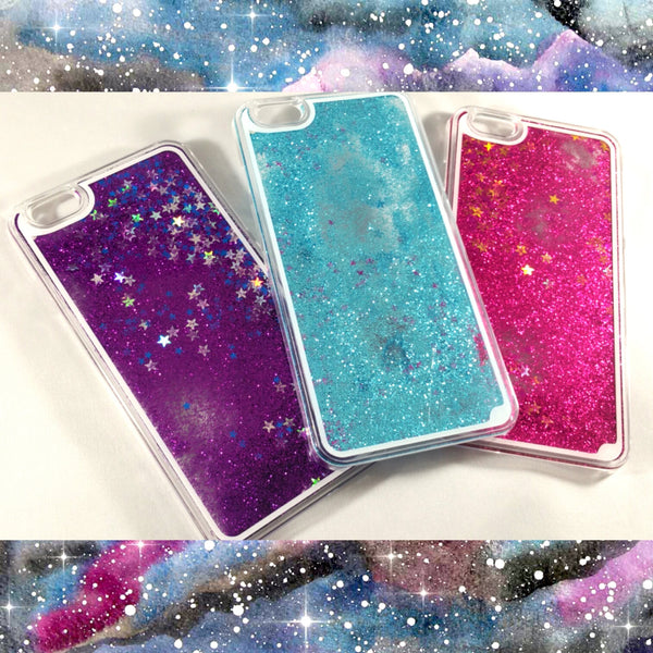 Liquid glitter stars quicksand iPhone 6 plus 6S plus Case