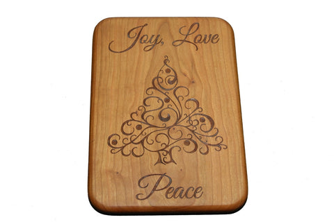 Holiday Joy Custom Cutting Board