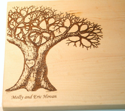Lover's Tree Custom Cutting Board