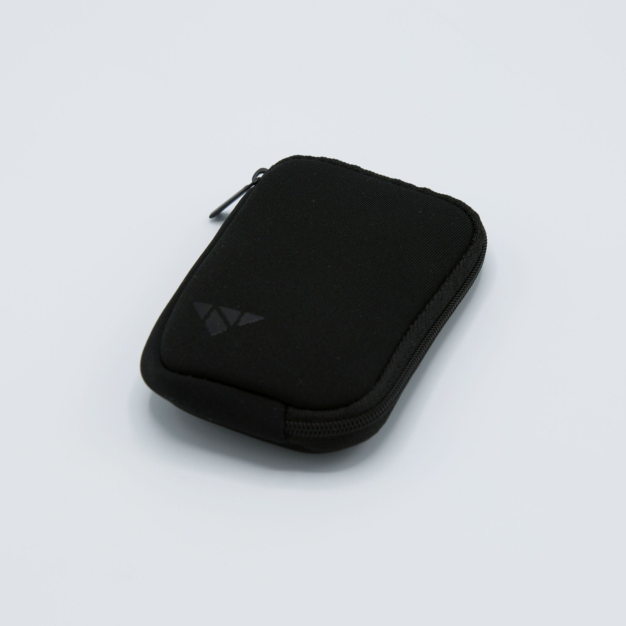 Black Neoprene Earbud Carrying Case
