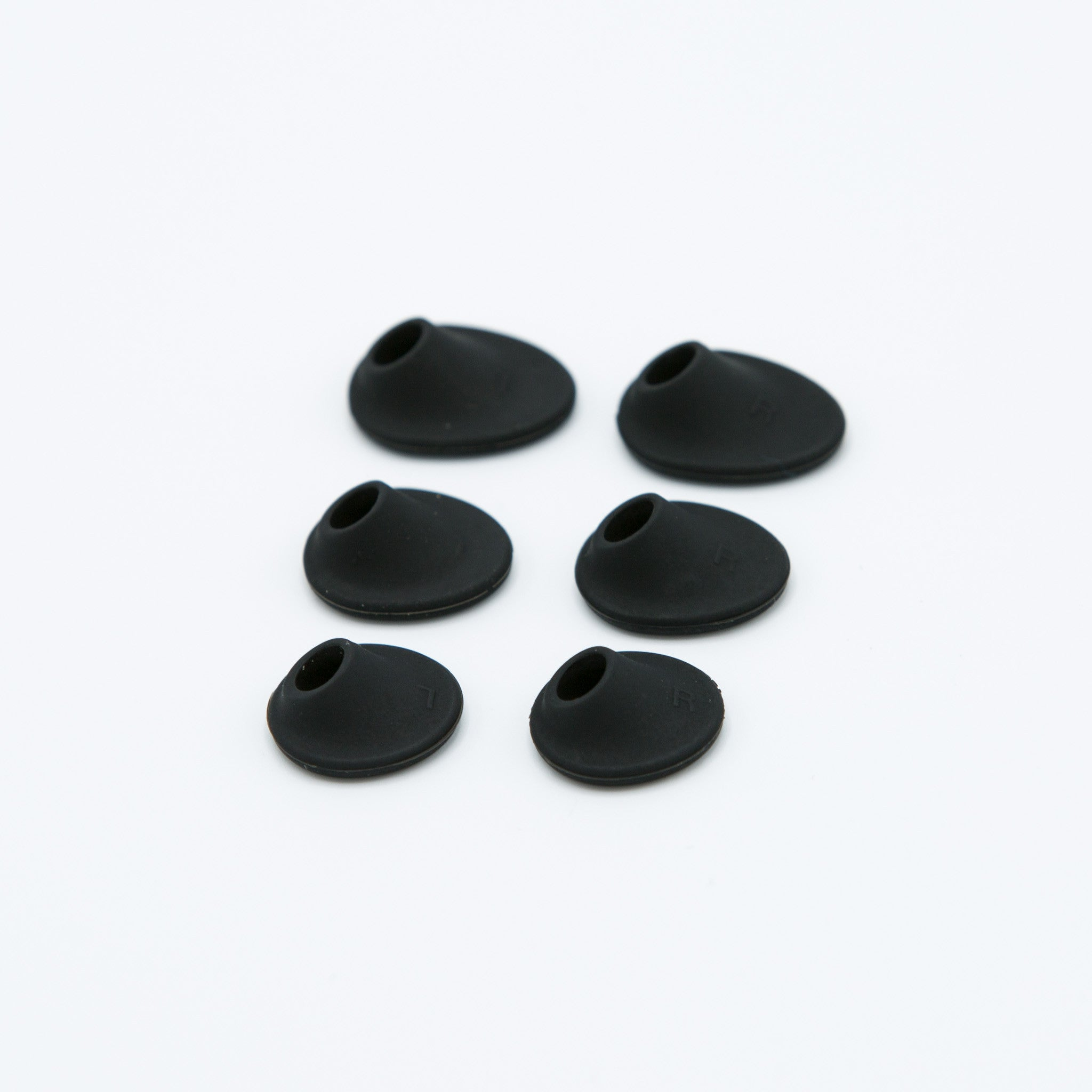Black Silicone Earbud Stabilizers