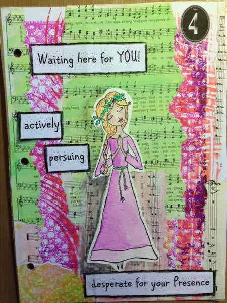 God's Girls  Acrylic Stamps- Holly
