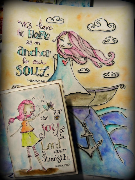 "Shonna Bucaroff- ""God's Girls"" Coloring Book"
