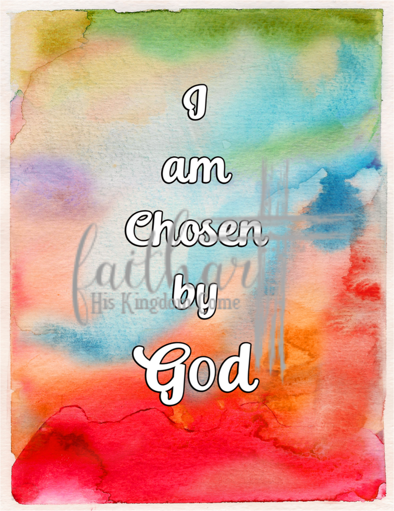 "Pearl Brown-""I am Chosen""- Digital Download"