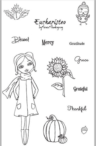 God's Girls Acrylic Stamps- Autumn