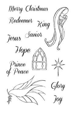 Prince of Peace Acrylic Stamps