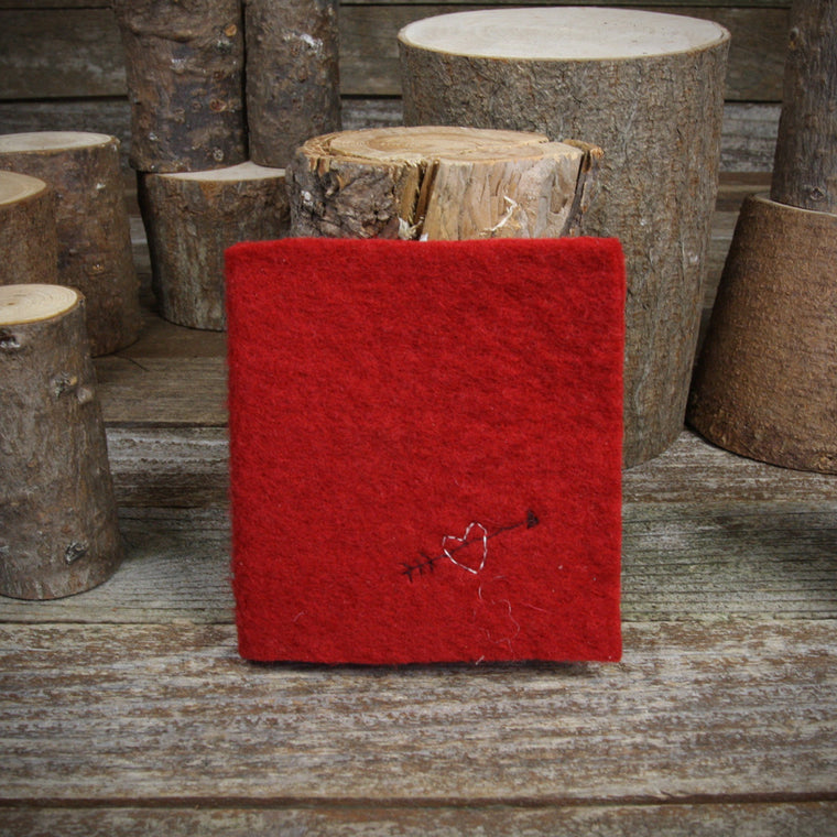 Hand-dyed Felt Journal