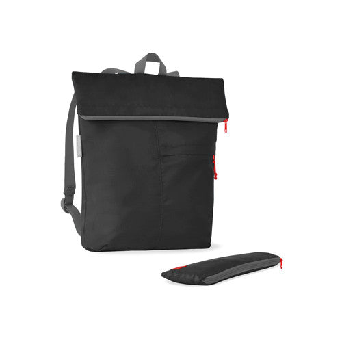 Recycled Plastic Backpack - Black