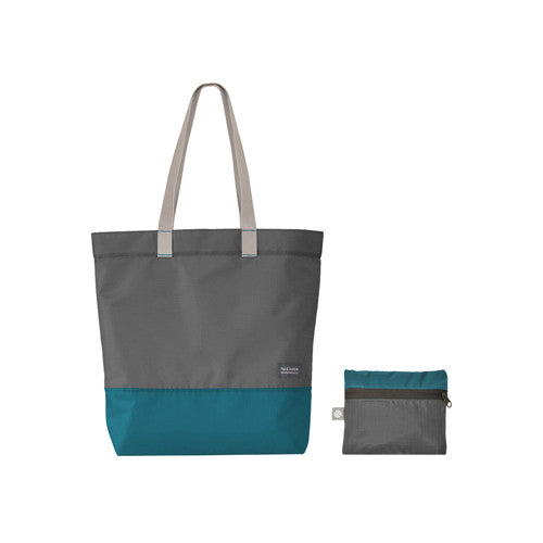 Recycled Plastic Tote Bag - Blue