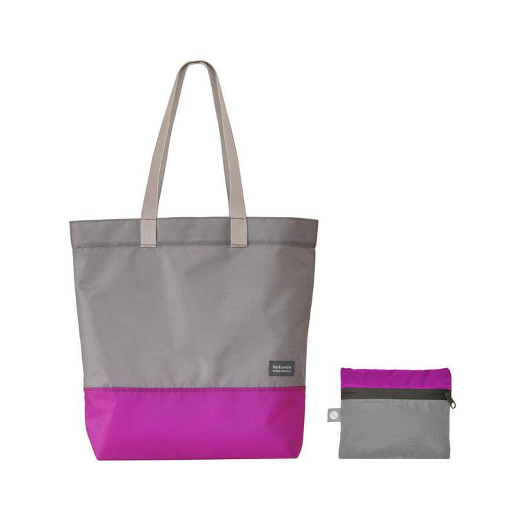 Recycled Plastic Tote Bag - Pink