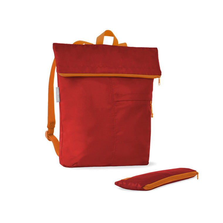 Recycled Plastic Backpack - Red