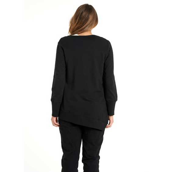 Betty Basics Dolly Sweat - Black Jackets Betty Basics