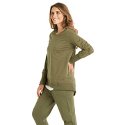 Betty Basics Dolly Sweat - Khaki Jackets Betty Basics