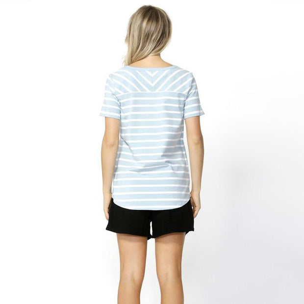 Demi Scoop Tee by Betty Basics Tops Betty Basics