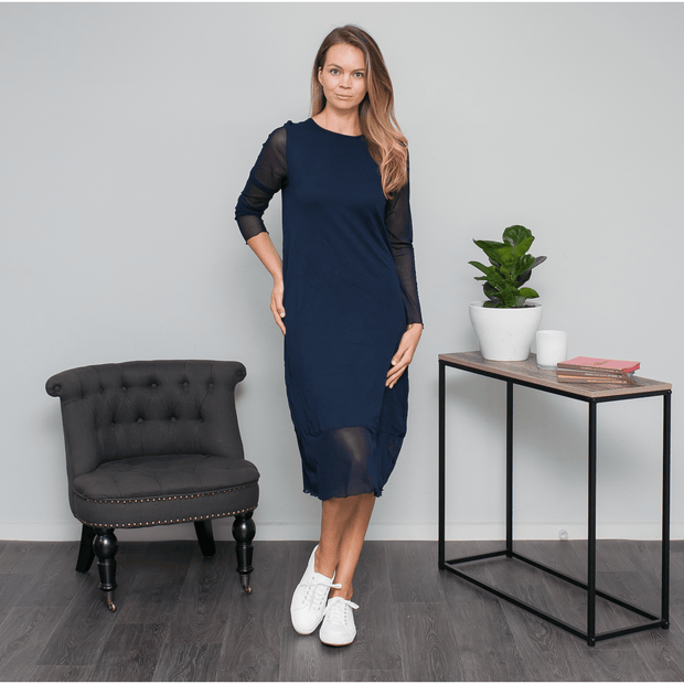 Frankie Dress - Navy Dress Vigorella