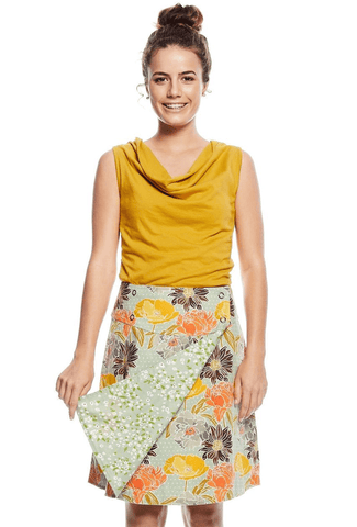 Reversible Skirt - Meadow & Astor Skirts Mahashe