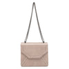 'Amara' Croco Shoulder Bag - OB4445- RRP $89.95 - Natural - Olga Berg Handbags and Bags Online