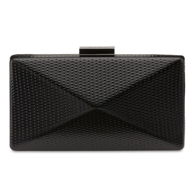 MICA Metallic Angular Pod- RRP $89.95 - Black - Olga Berg Handbags and Bags Online